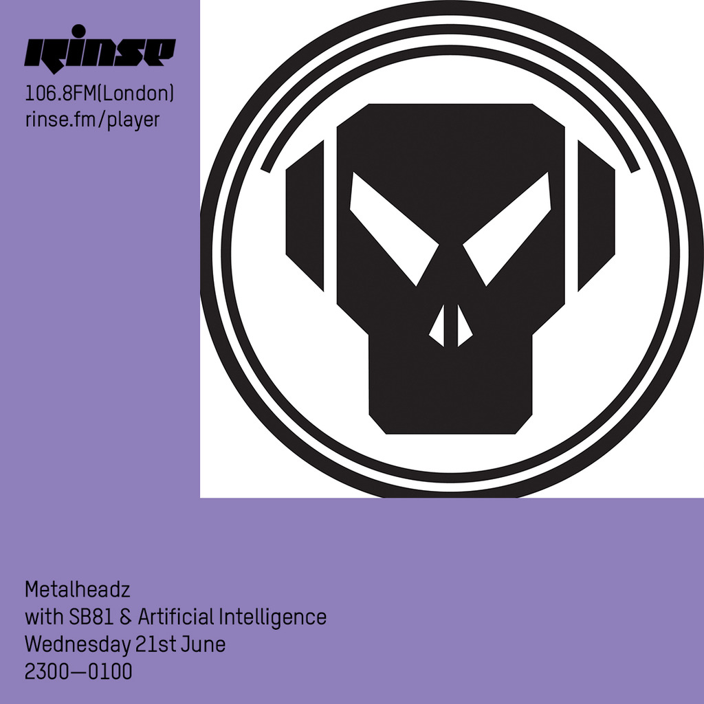 Rinse FM - June 2017 - Artificial Intelligence / SB81