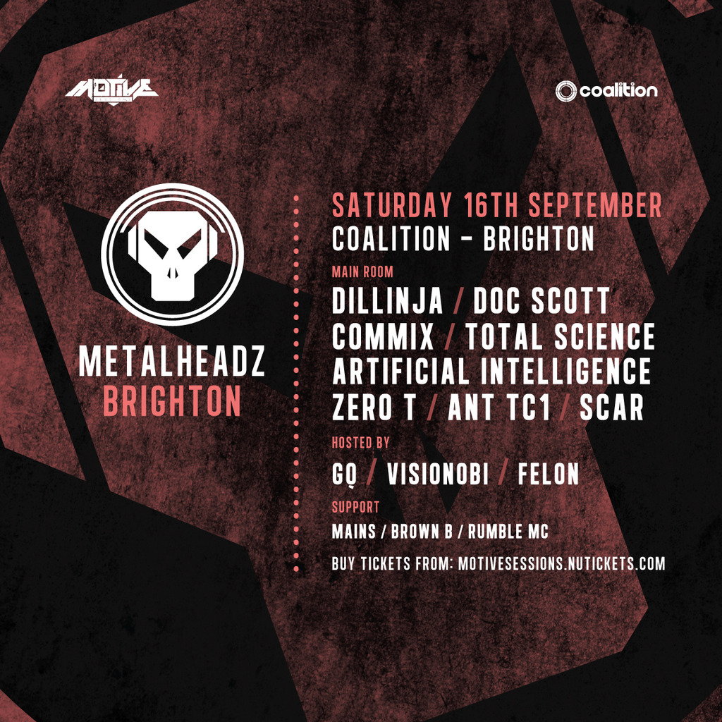 Metalheadz - Brighton [UK] - 16 Sep 2017