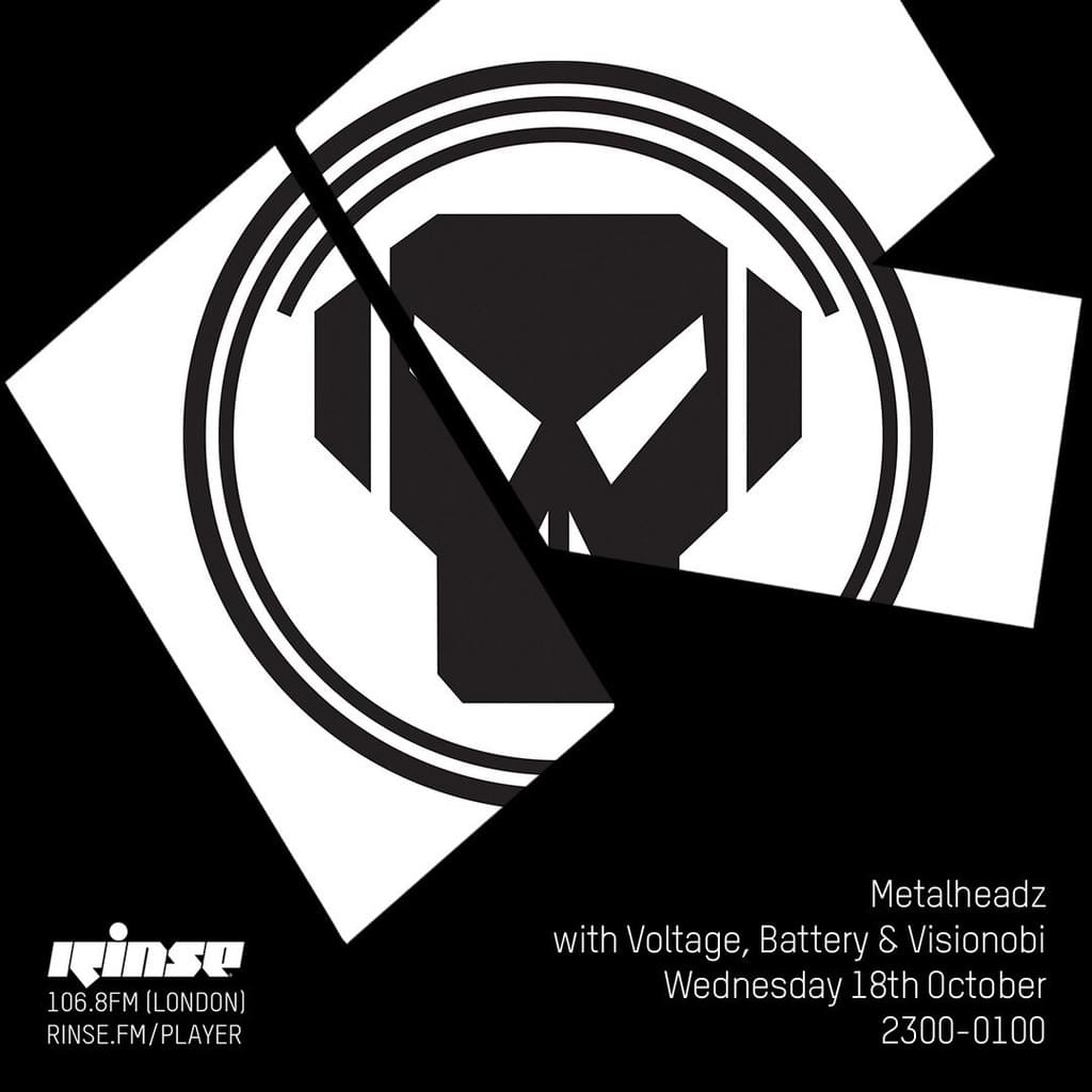 Rinse FM - October 2017 - Voltage, Battery & Visionobi