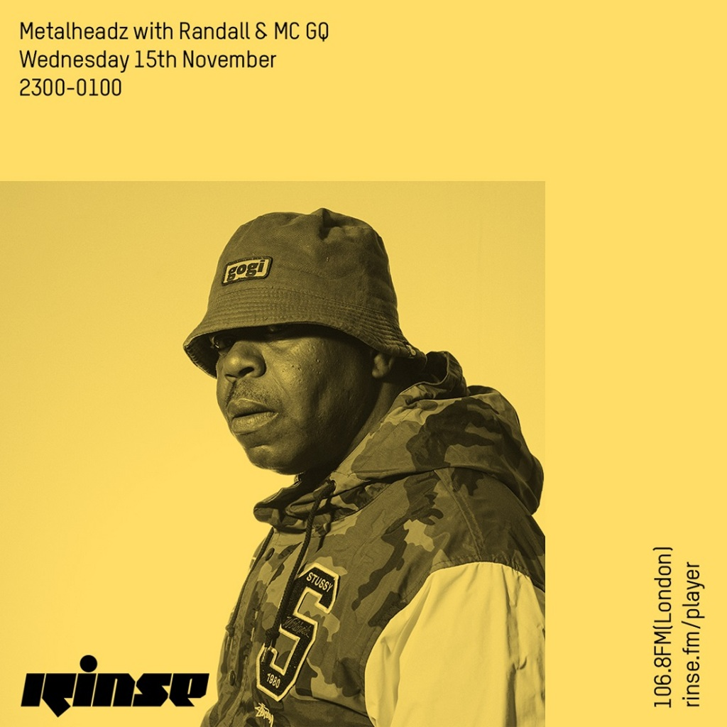 Rinse FM - November 2017 - Randall & MC GQ