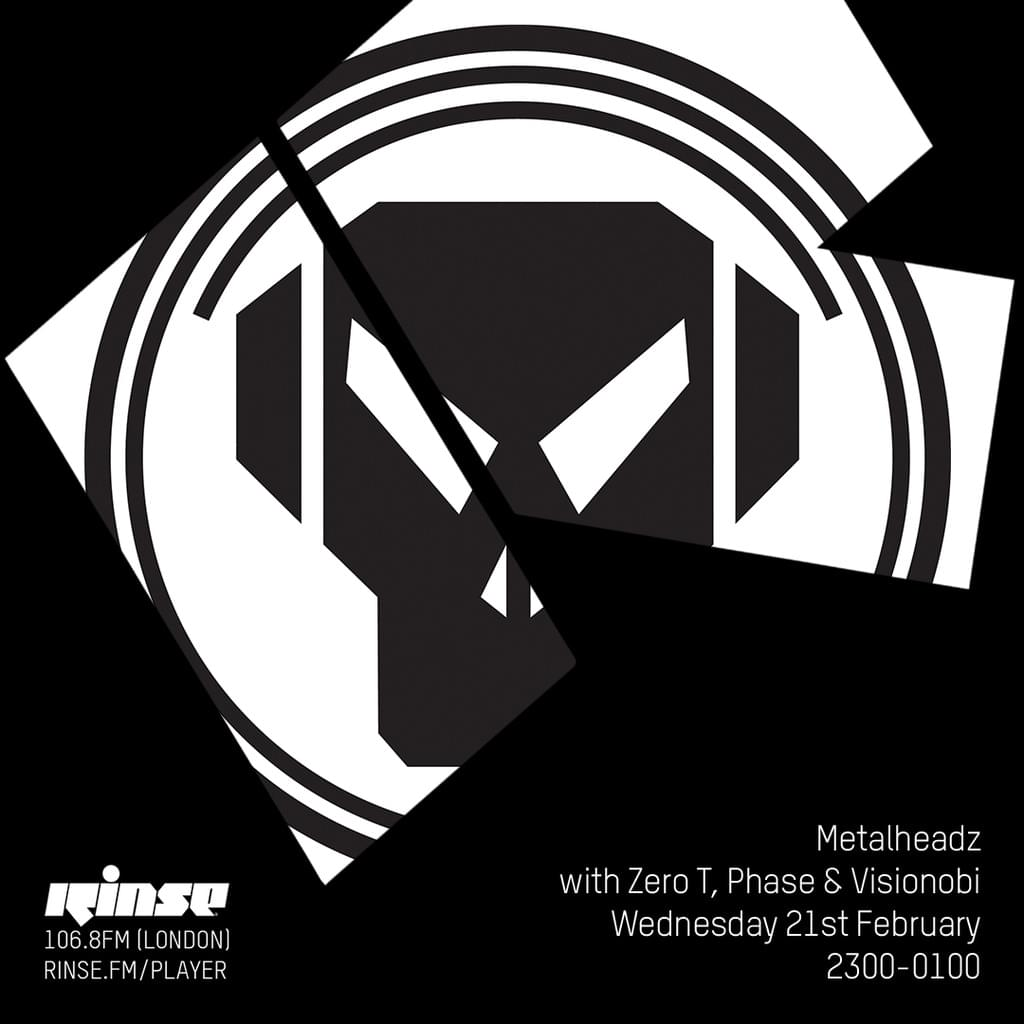 Rinse FM - February 2018 - Zero T, Phase & Visionobi