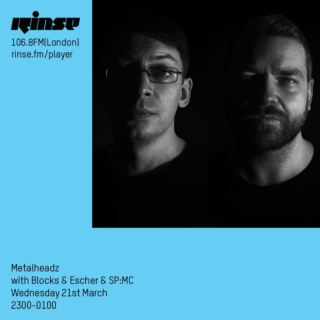Rinse FM - March 2018 - Blocks & Escher