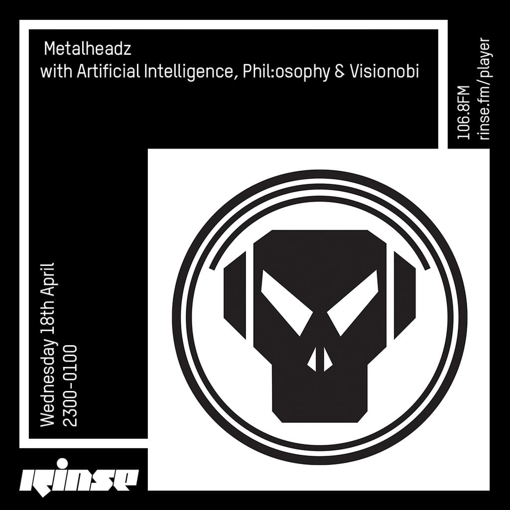 Rinse FM - April 2018 - Artificial Intelligence, Phil:osophy & Visionobi