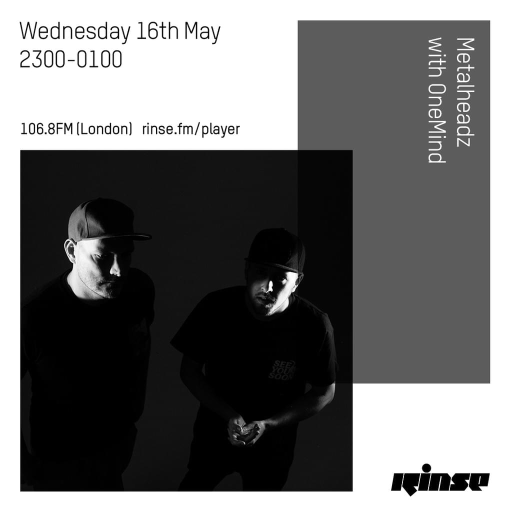 Rinse FM - May 2018 - OneMind