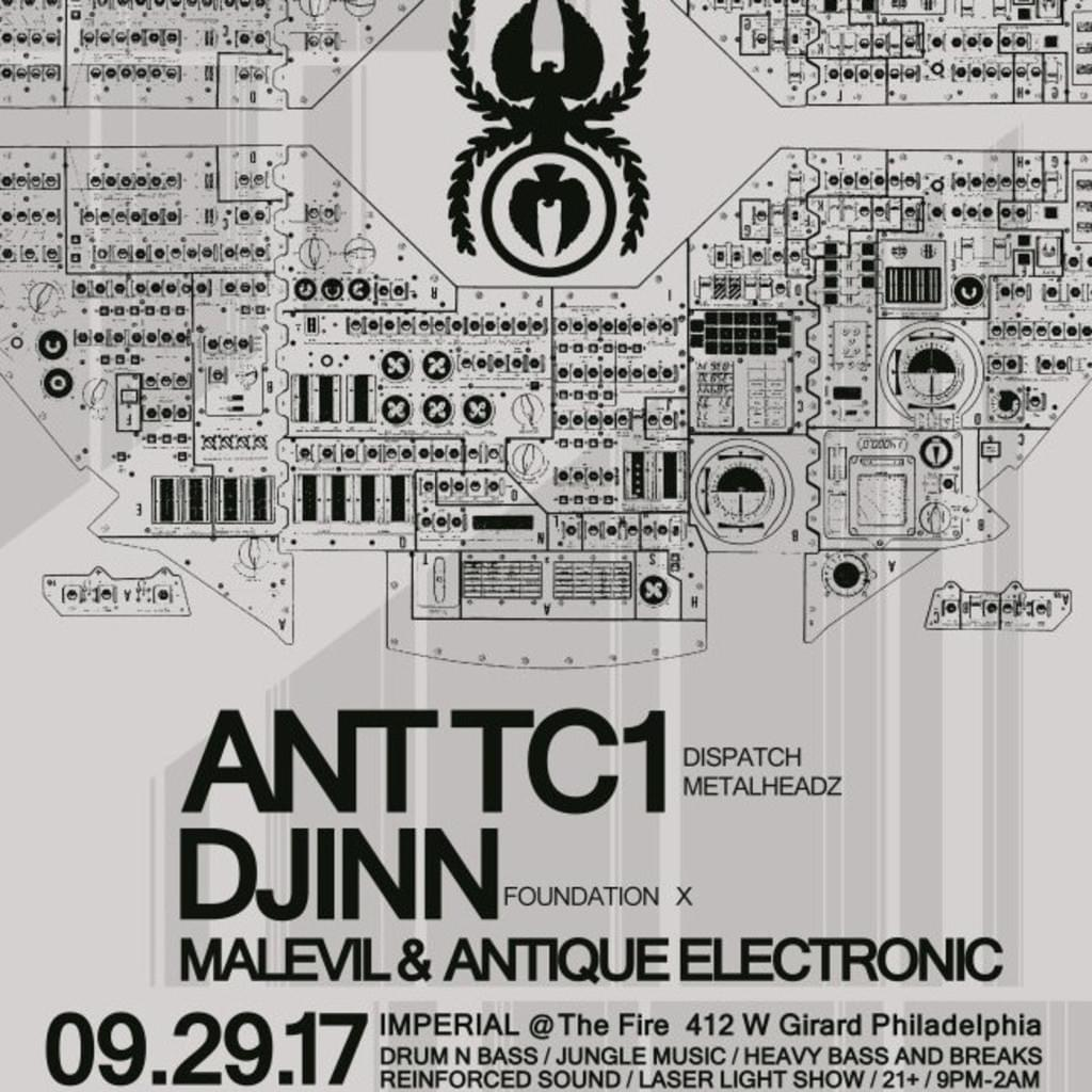 Ant TC1 - Live at Imperial, Philadelphia, PA, USA, 29.09.17