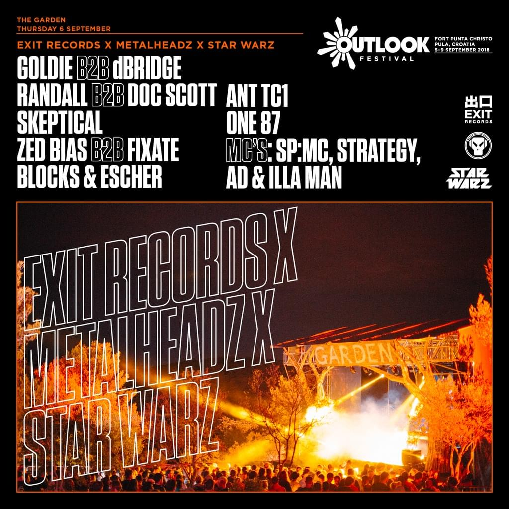 Ant TC1 live at Outlook Festival 2018