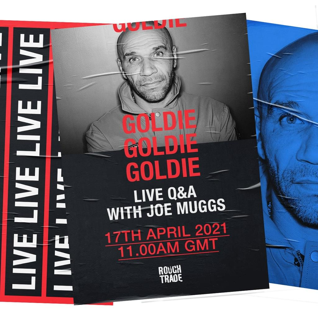 Goldie: Live Q&A with Joe Muggs