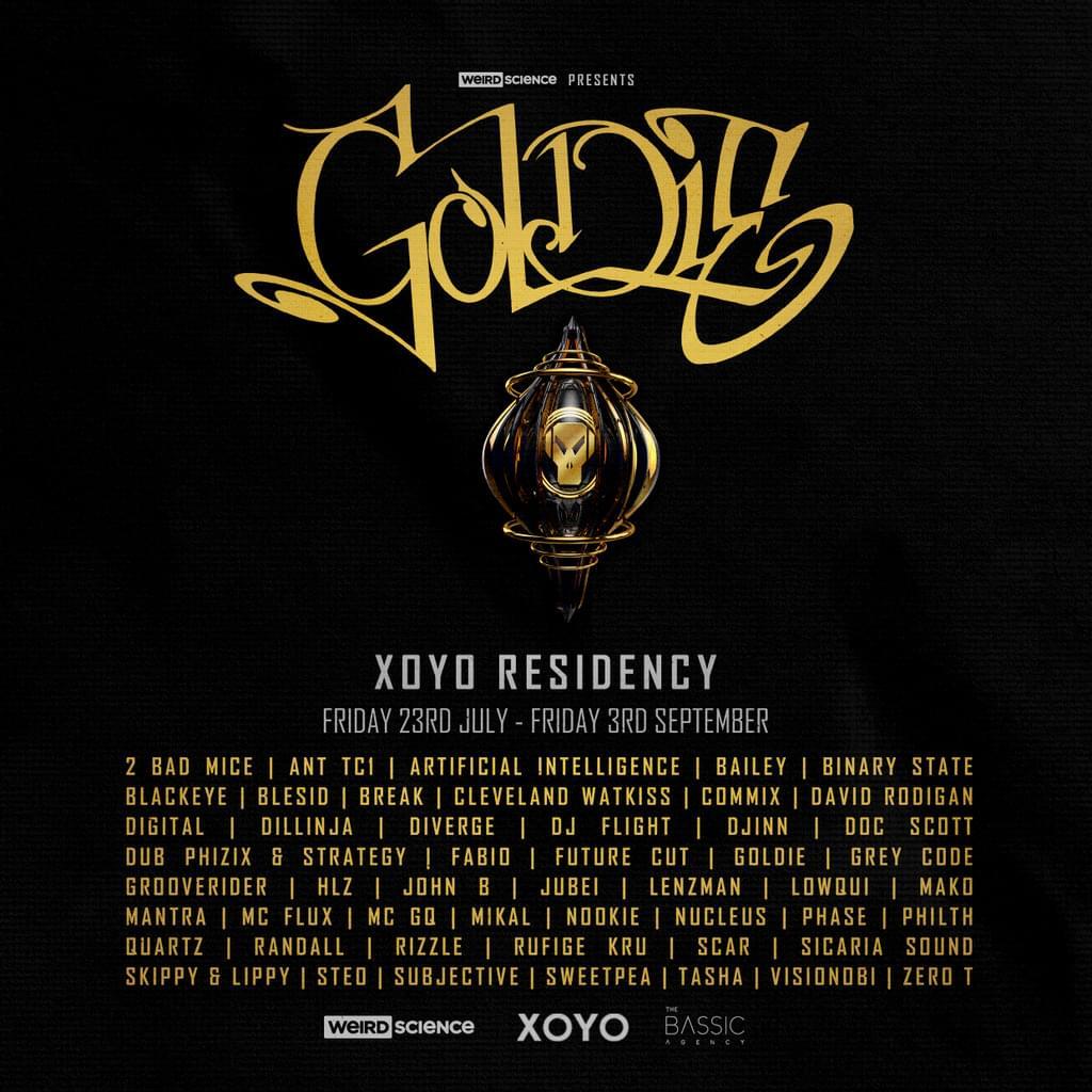 Goldie - XOYO Residency