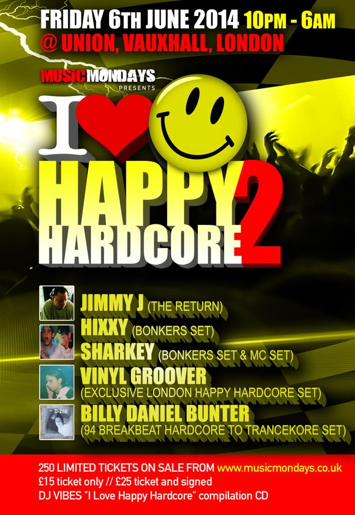 I Love Happy Hardcore 2... Only 1 more sleep