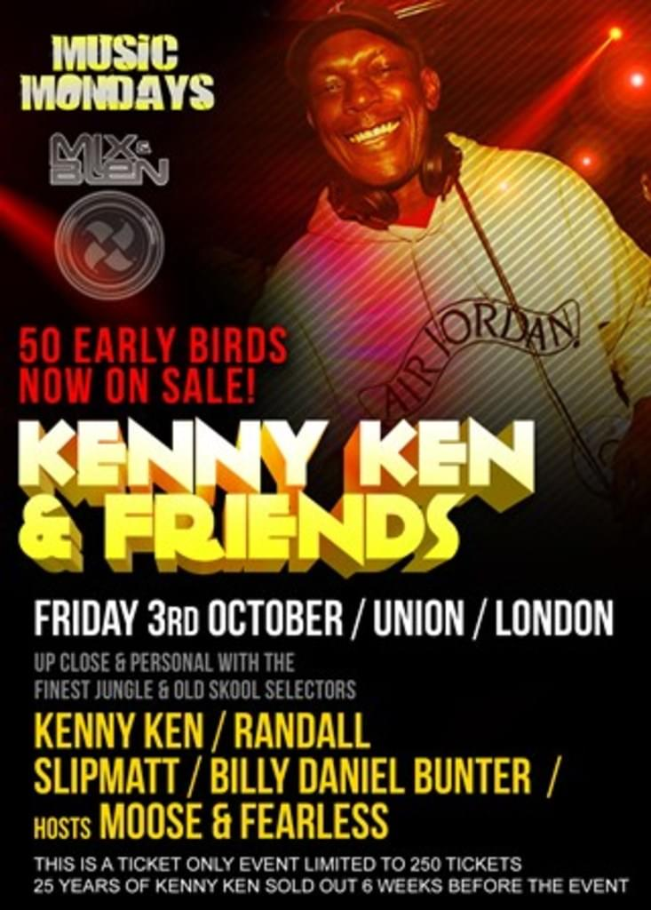 THIS FRIDAY Kenny Ken & Friends