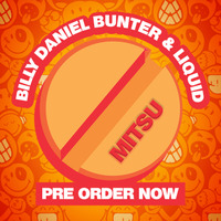 BILLY DANIEL BUNTER AND LIQUID - Mitsu - Comic Book and Limited Edition 4 track vinyl