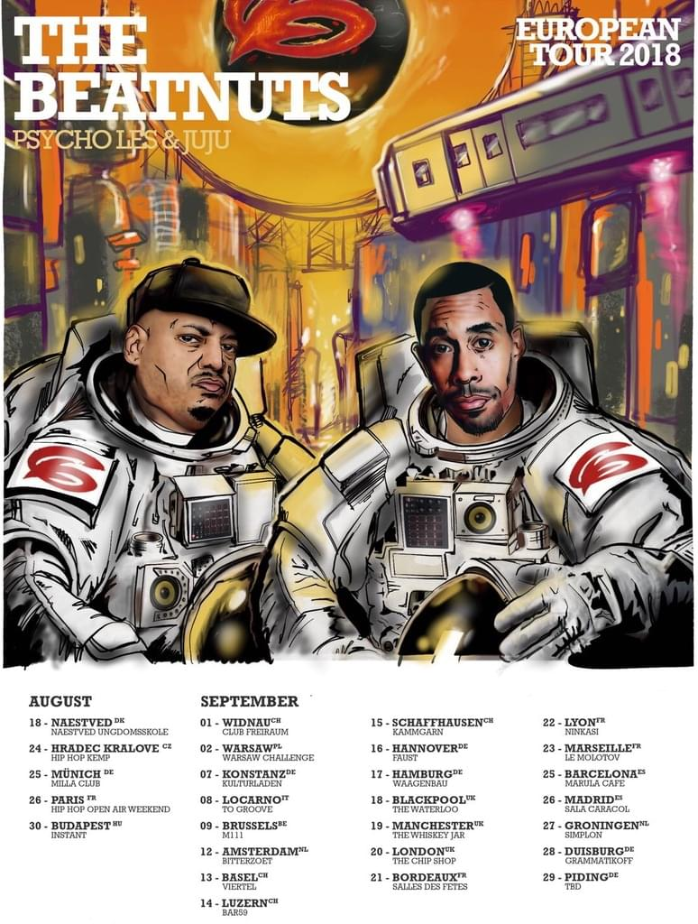 THE BEATNUTS EURO TOUR