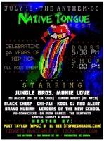 NATIVE TONGUE FEST. JULY 18TH D.C.