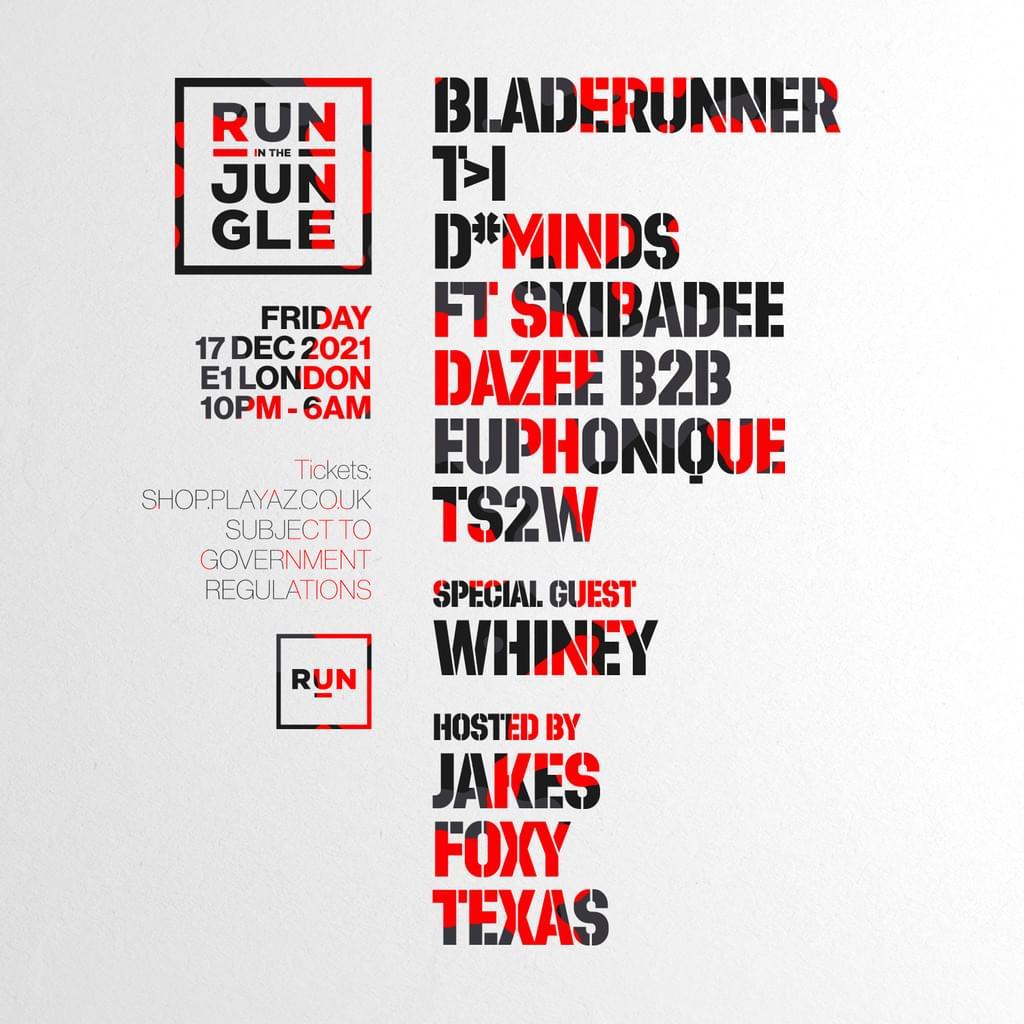 RUN in the Jungle x Playaz - London E1