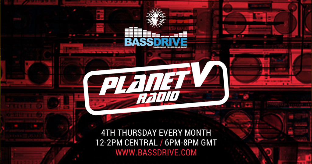Planet V Radio Show 001 - Hosted by Alibi - 15- 02-2016