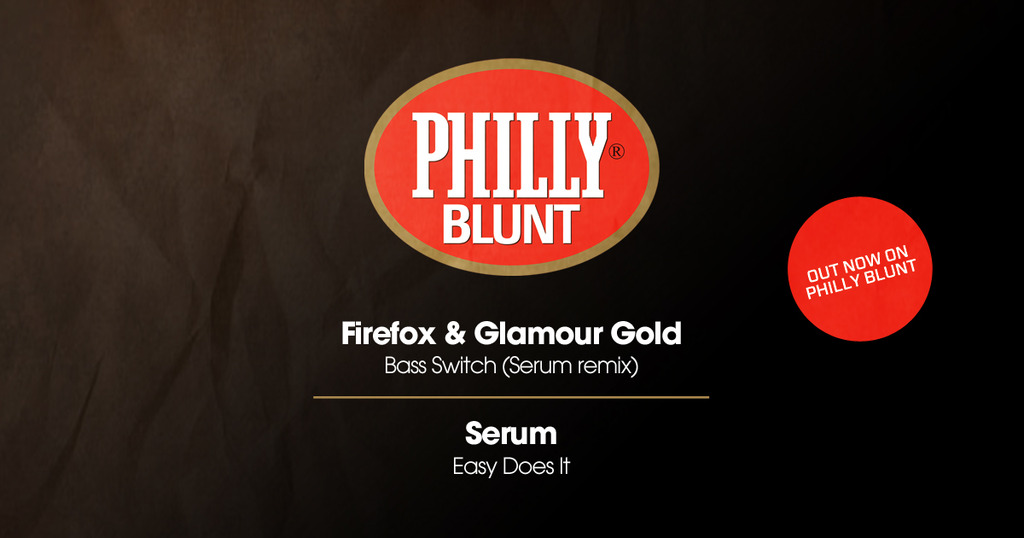 Firefox, Glamour Gold & Serum combine for Philly Blunt album teaser