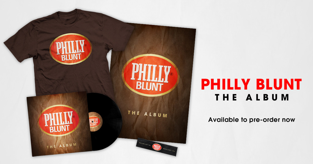 Philly Blunt - The Album - Pre-order now!