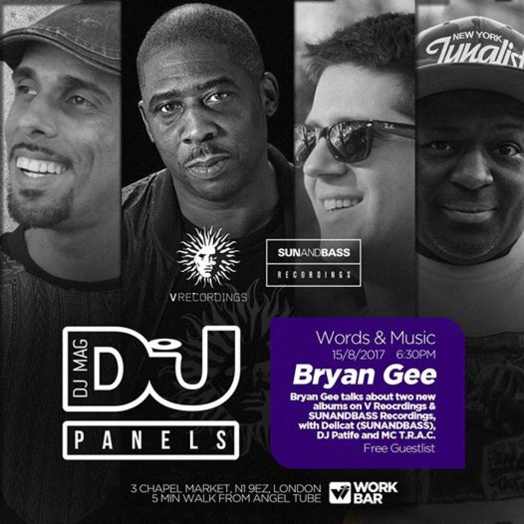 DJ Mag Panel with Bryan Gee, DJ Patife, T.R.AC. & Delicat (SUNANDBASS)